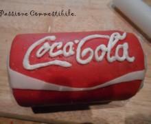 Lattina di Coca Cola in pasta di zucchero