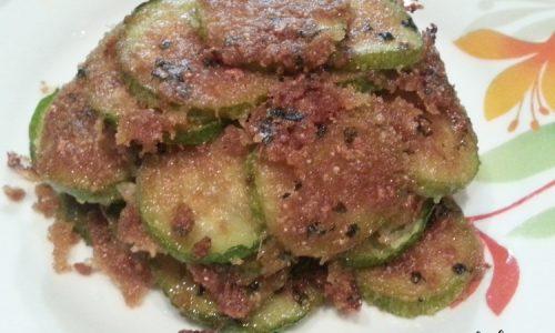 Zucchine trifolate al gratin