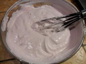 yogurt con panna