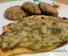 Peperoni ripieni di ricotta ed erbette (polpette al forno)