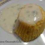 Flan di zucca con fonduta di gorgonzola