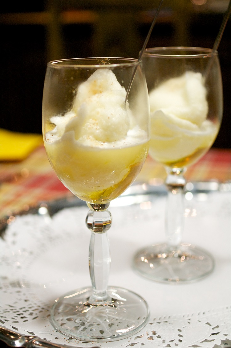 sorbetto limone al miele e peperoncino