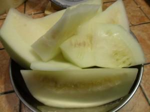 zucca cedrina pulita