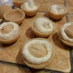 semisfere di biscotto con farcitura
