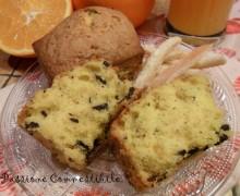 Pastine alla scorza d'arancia e briciole di cioccolato