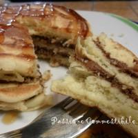 Pancake al latte di soia e agave