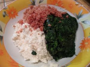 ricotta spinaci e speck