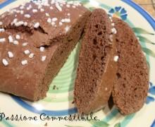 Ciambella al cacao senza glutine e senza lattosio