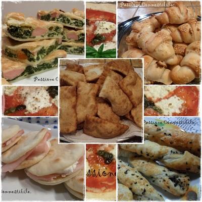 pani, focacce, pizze, torte salate