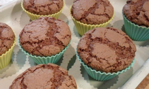 Muffin al cioccolato e cocco