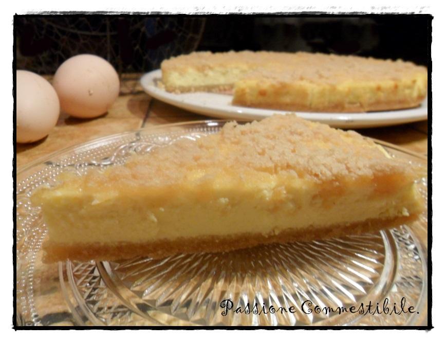 torta di ricotta della Carla