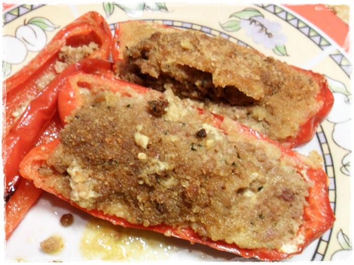 Peperoni ripieni al microonde1