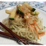 noodles di riso alle verdure saltate