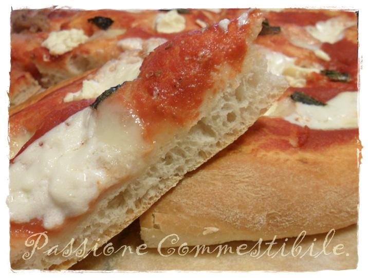 pizza metodo Tang Zhong fetta
