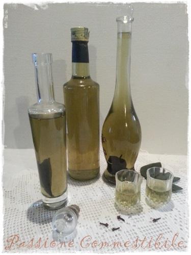 Grappa alla salvia bottiglie