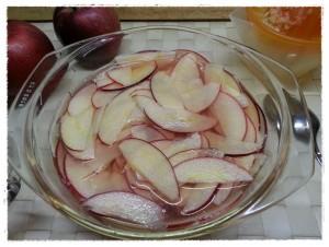 mele cotte nel micro