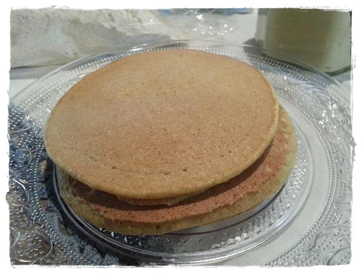pancake di farro