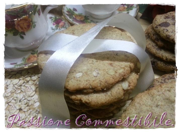 Biscotti al farro integrale e fiocchi di avena