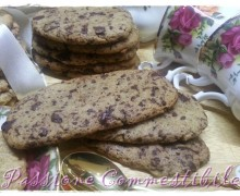 Biscotti di farro e riso integrali