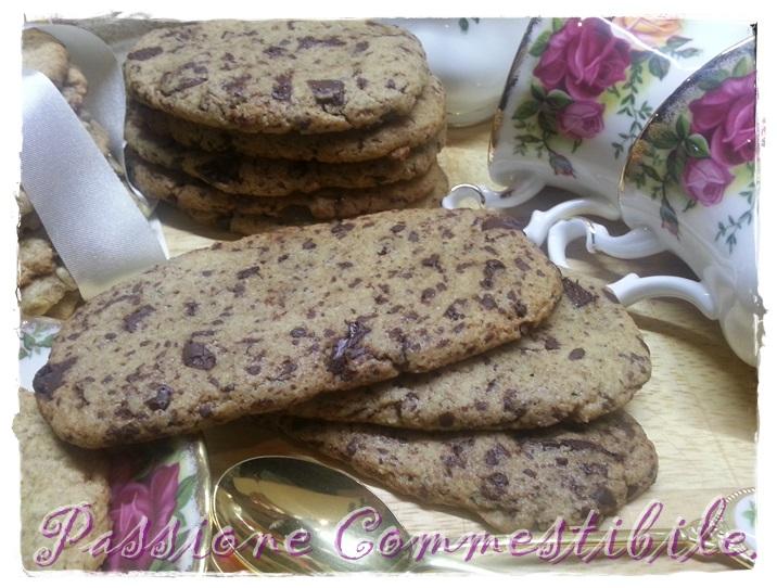 Biscotti di farro integrale e cioccolato