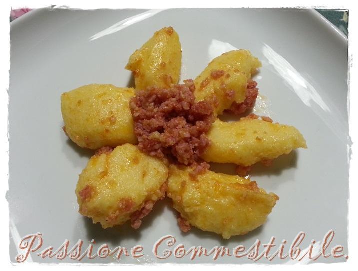 gnocchetti di polenta