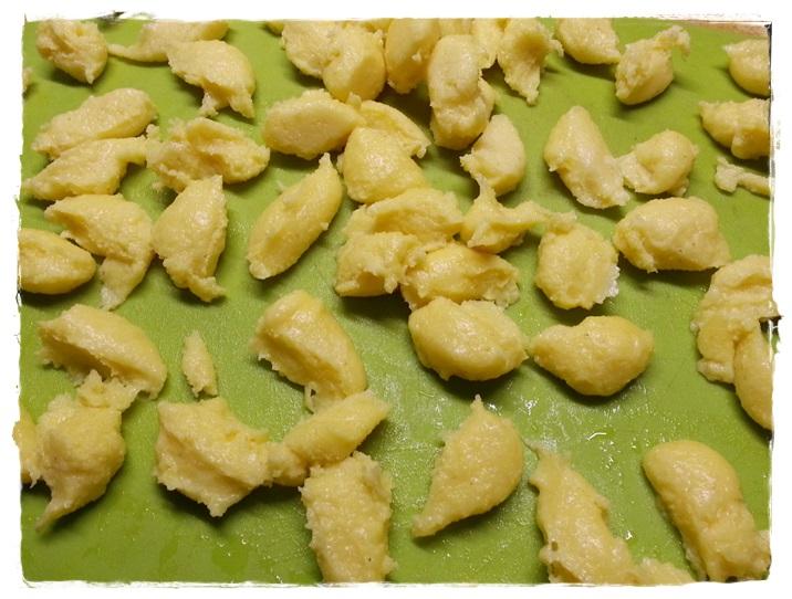 gnocchi di polenta appena fatti
