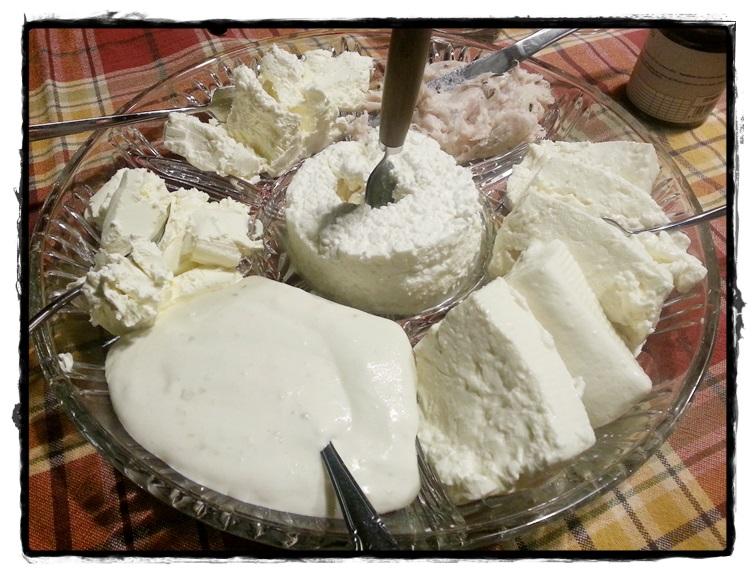 Scelta di formaggi
