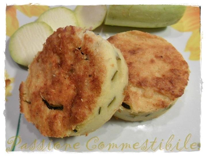 Sformato-di-patate-e-zucchine-impiattato