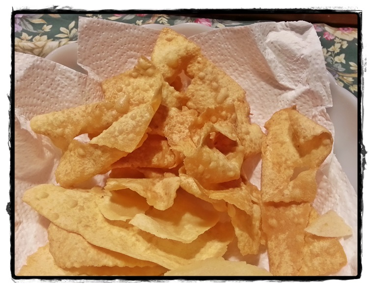 scolare i crostoli sg fritti
