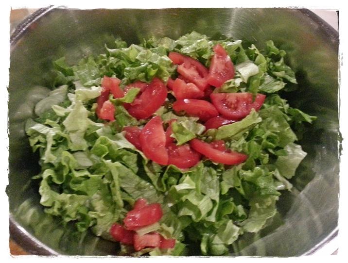 preparare insalata mista