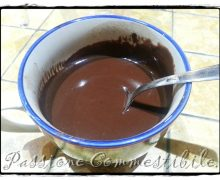 Miscela per cioccolata in tazza istantanea