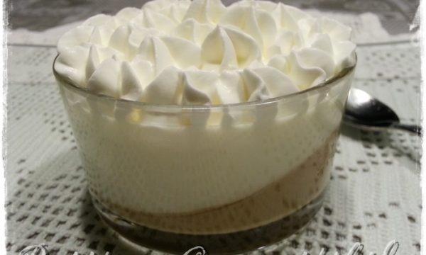 Panna cotta bigusto vaniglia e caffè