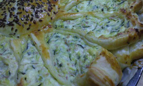 Girasole di Zucchine e Feta
