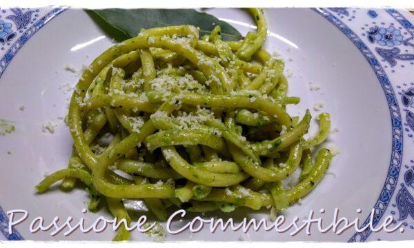 Spaghettoni al Pesto di Cavolo Nero