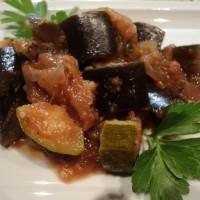 Melanzane e Zucchine in padella (caponatina)