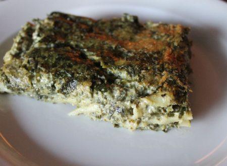 Lasagne di magro con pesto – ricetta light