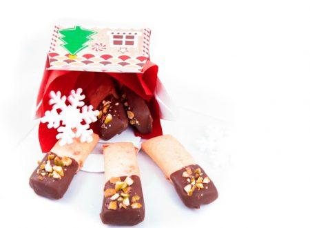 Biscotti croccanti cioccolato e pistacchi