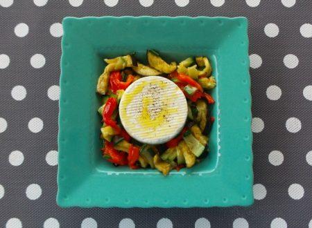 Insalata di verdure grigliate e primo sale