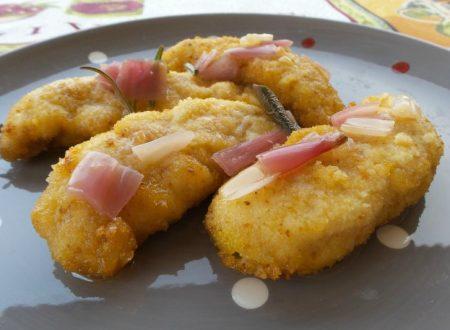 Cotolette di pollo in carpione