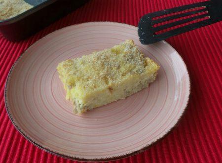 Gateau di patate con salsiccia e mozzarella