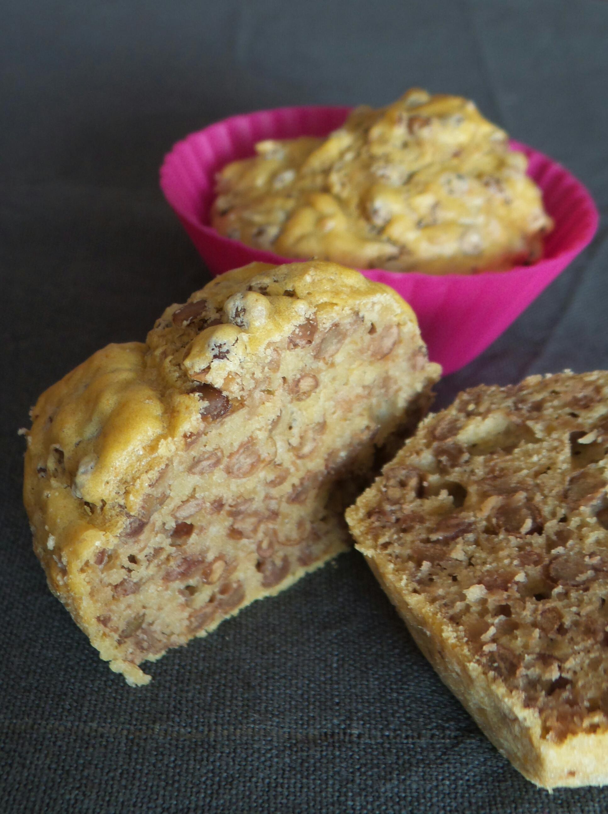 Muffin di lenticchie