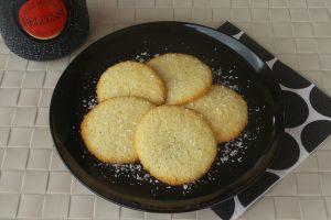 Biscotti morbidi cocco e spumante