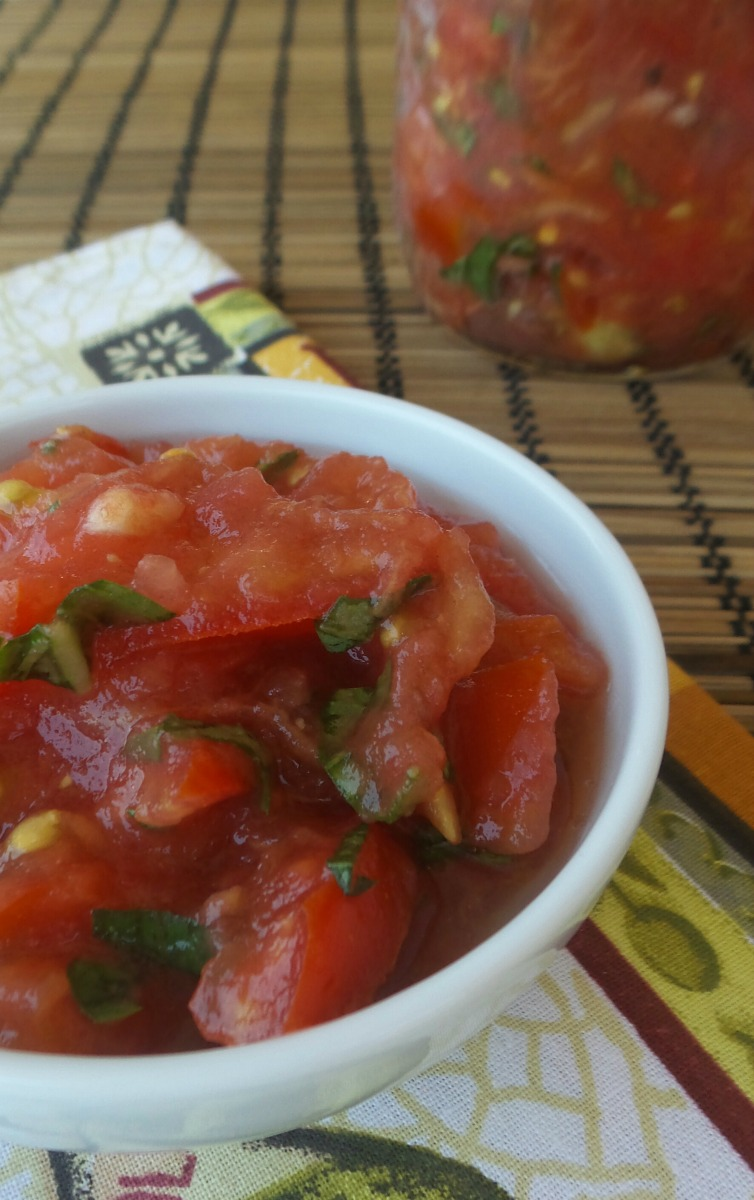 conserva pomodoro crudo