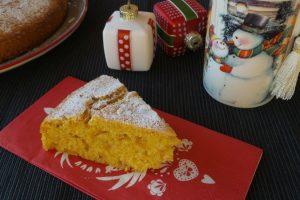Torta rustica alla zucca, yogurt e amaretti