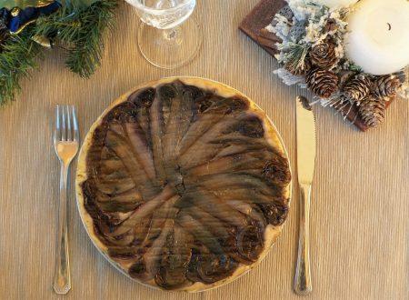 Torta rovesciata al radicchio trevigiano (Upside down cake salata)