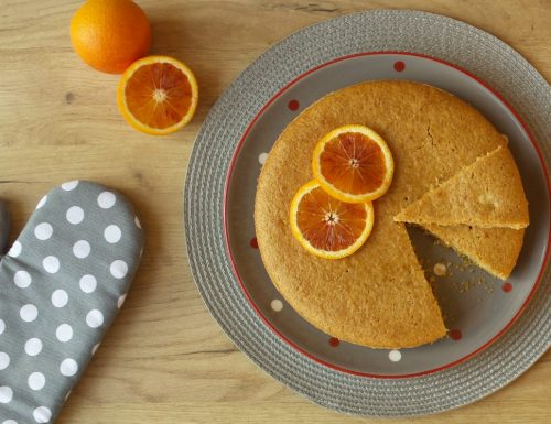 Torta integrale arance e mandorle