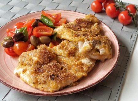 Sovracosce di pollo croccanti in padella