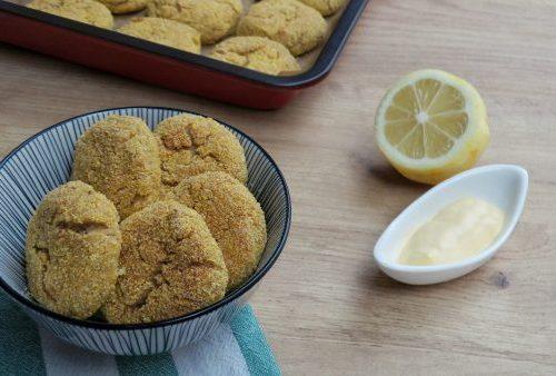 Polpette di branzino con mirto e limone