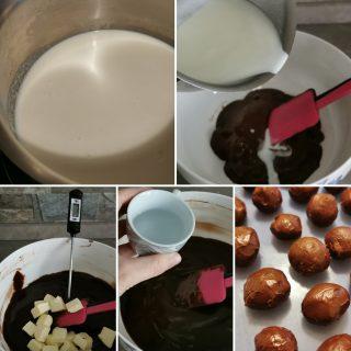 Tartufini di cioccolato al gin
