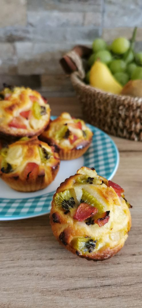 muffin yogurt e frutta